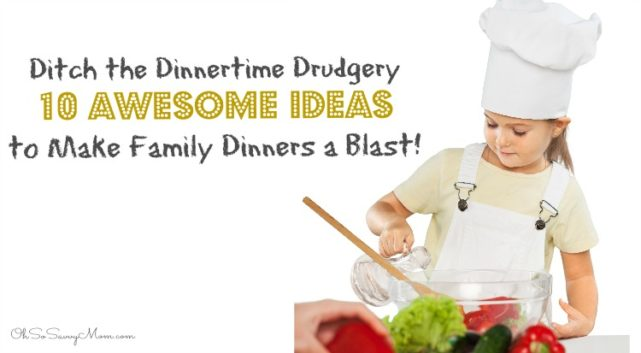 10 Ideas to Make dinnertime a blast twitter