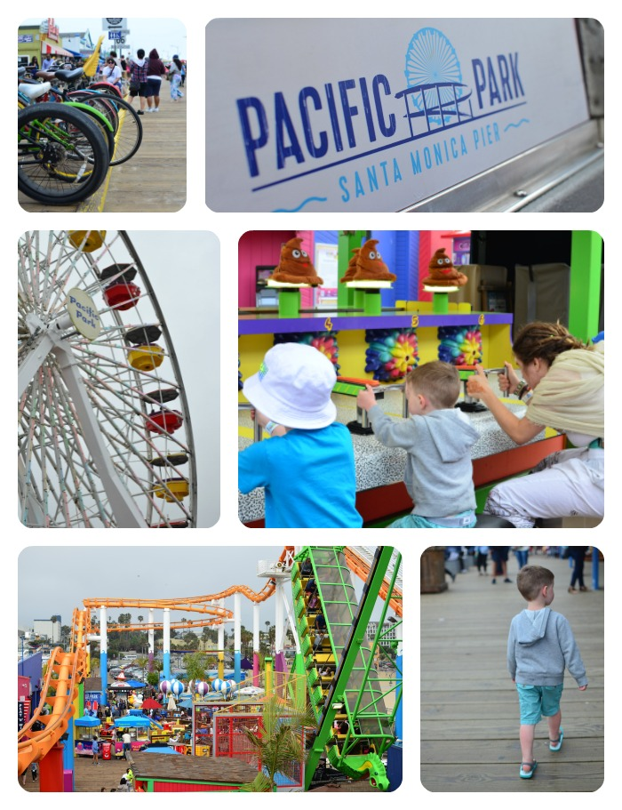 Pacific Park at the Santa Monica Pier