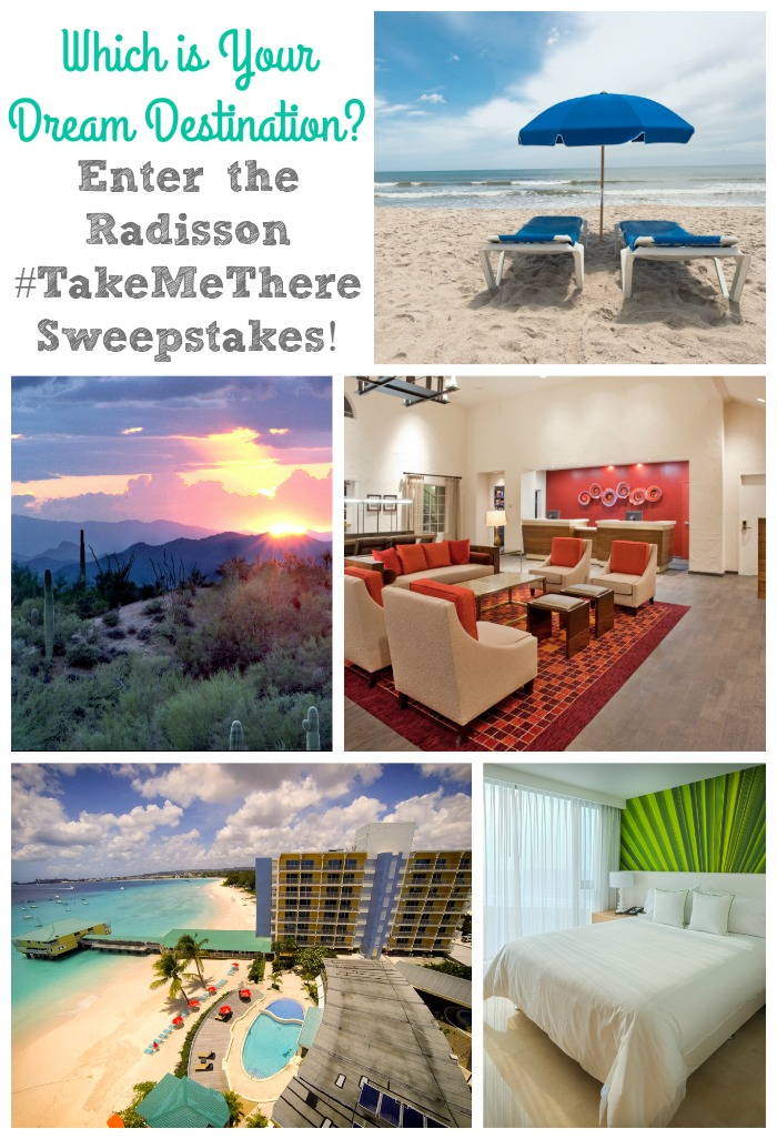 Radisson TakeMeThere Sweepstakes