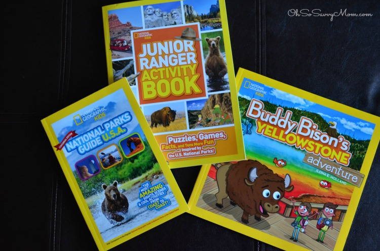 National Geographic Kids National Parks books