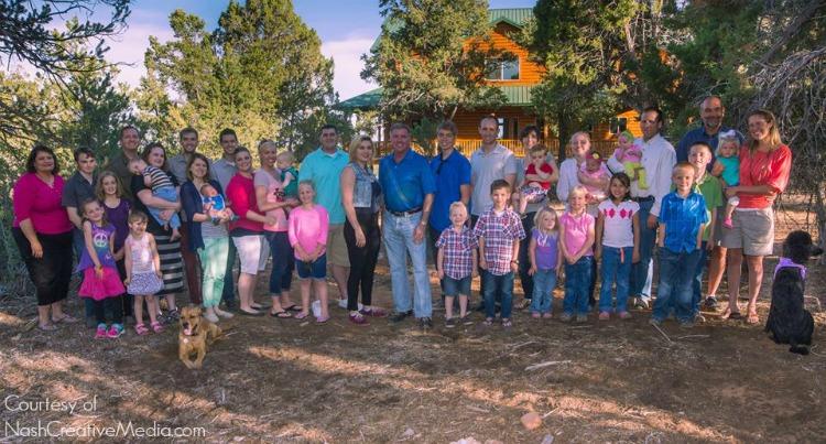 Zion Ponderosa Family Picture