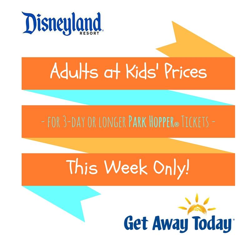 Disneyland Tickets Discount