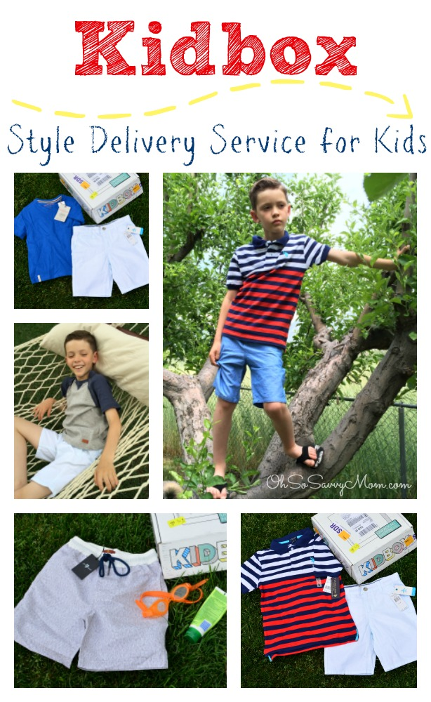 Kidbox Style Delivery Service for Kids