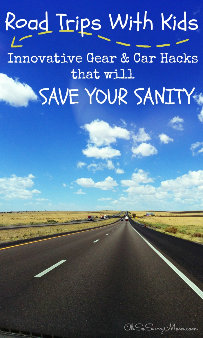 Road Trips with Kids, Innovative Gear and Car Hacks to Save Your Sanity