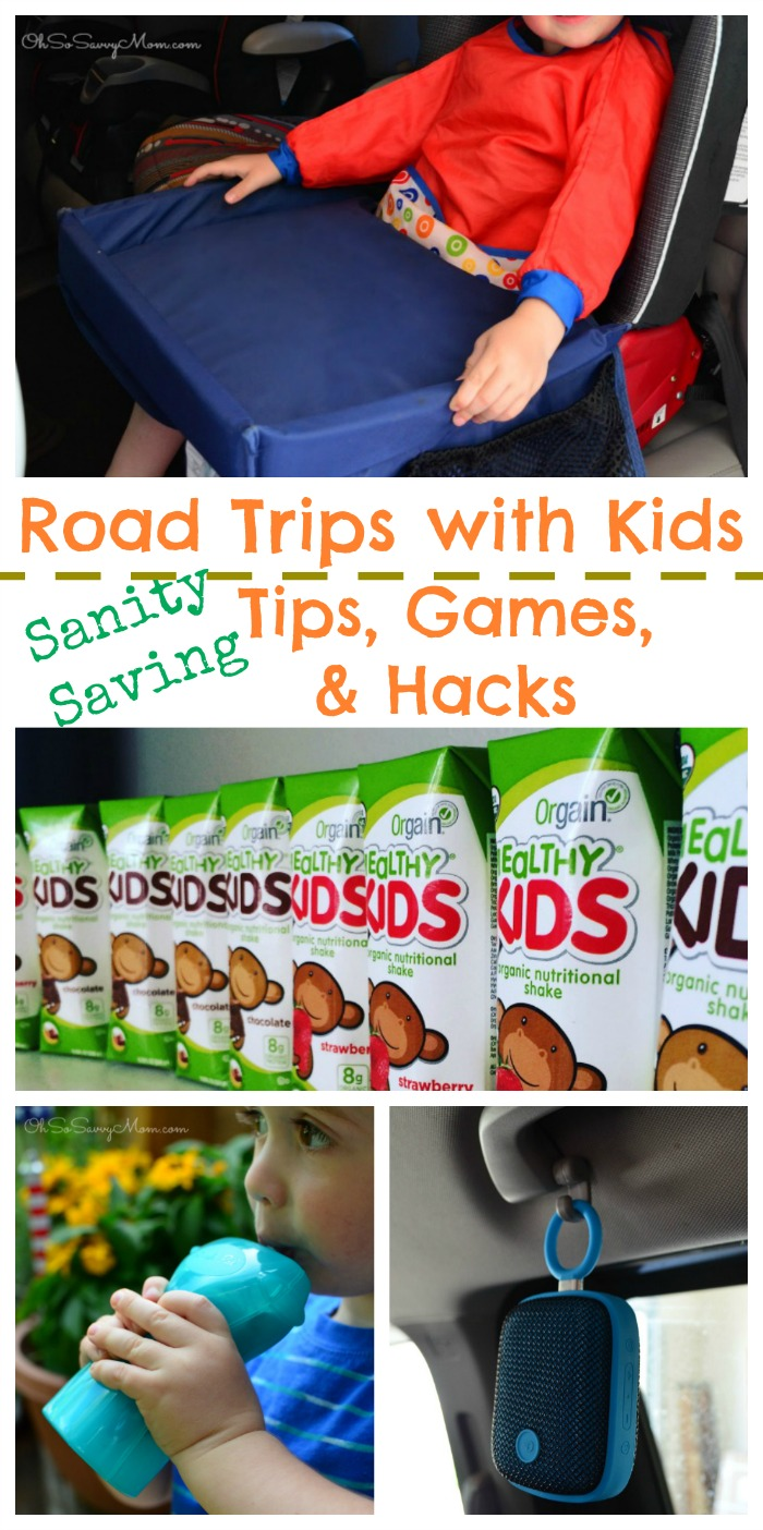 Road trips with Kids, Sanity Saving Tips, Games and Hacks