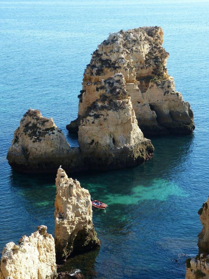 boating in lagos Algarve
