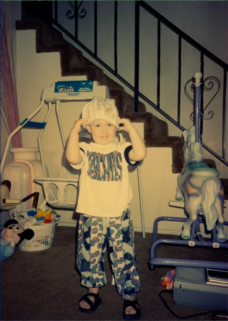 Spencer circa 1992