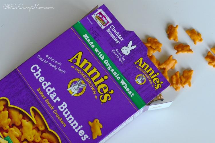 Annie's Cheddar Bunnies Box Tops