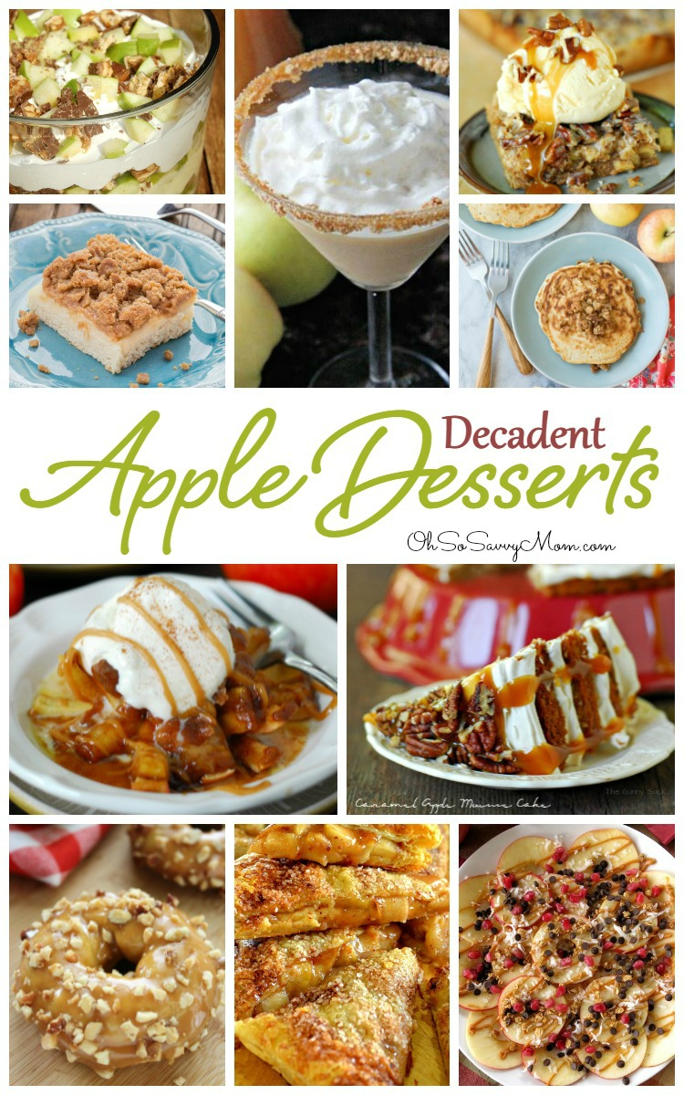 20 Delicious, Decadent Apple Dessert Recipes