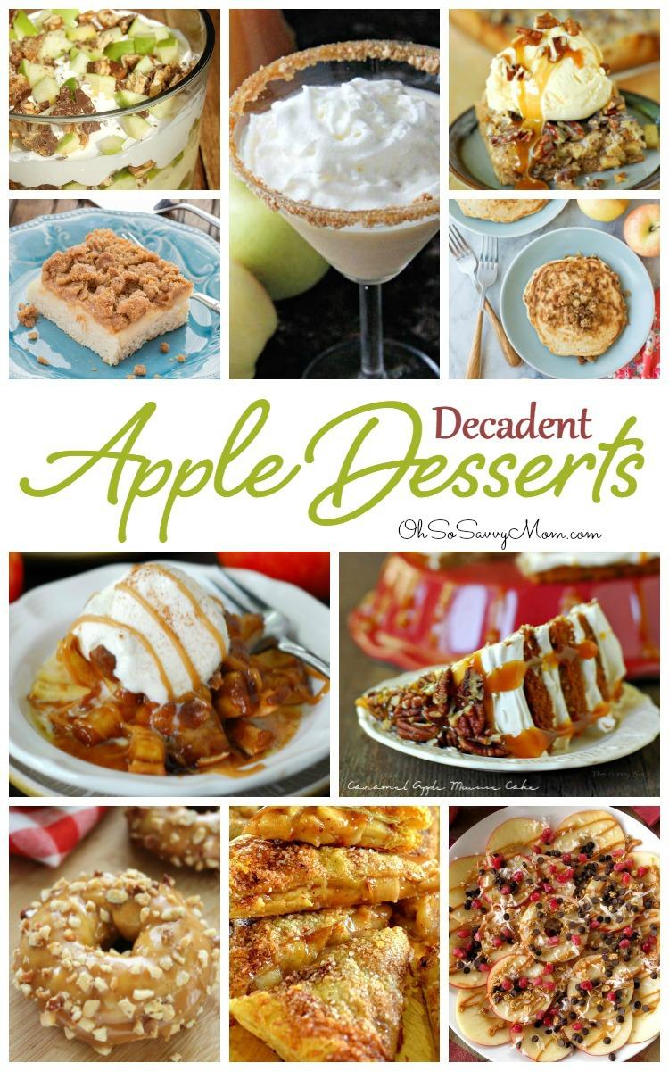 20 Delicious, Decadent Apple Dessert Recipes