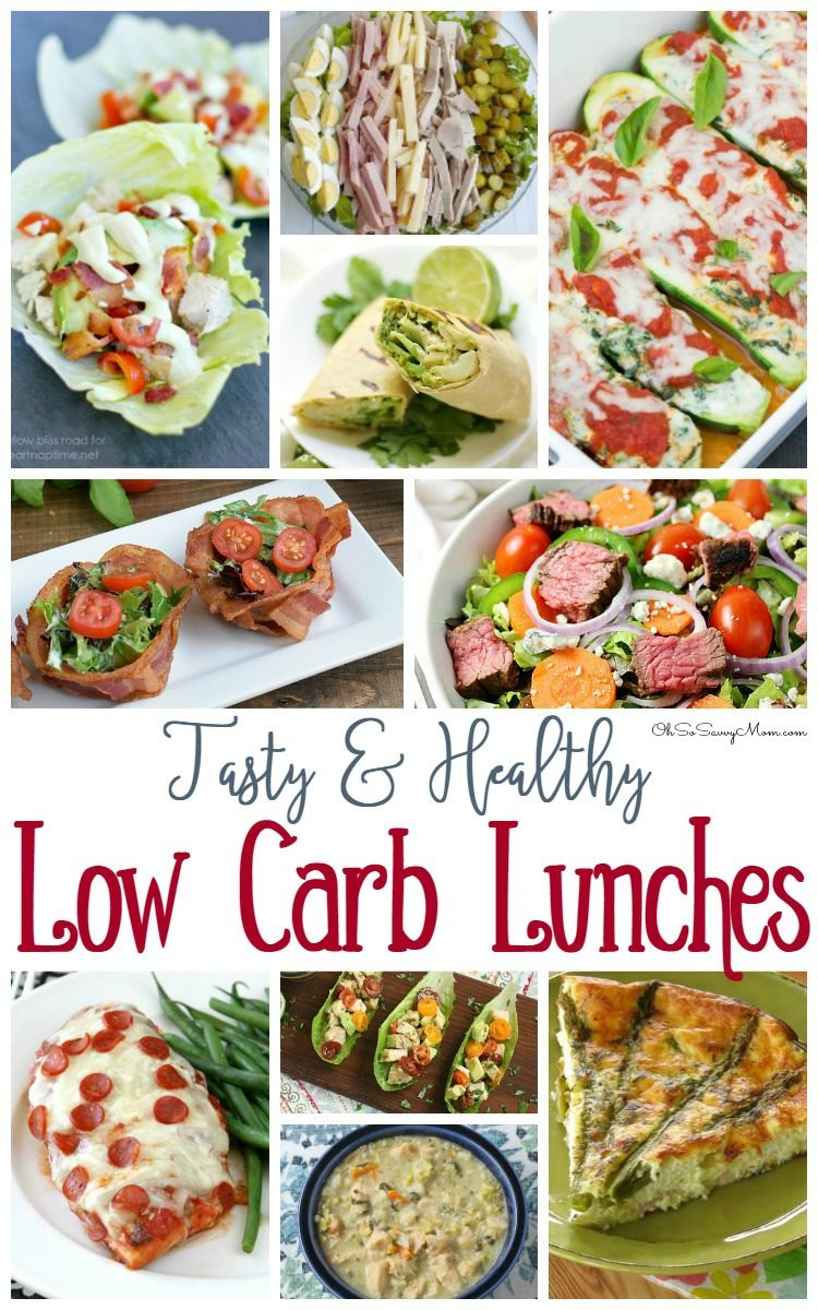 Low Carb Lunches Recipes