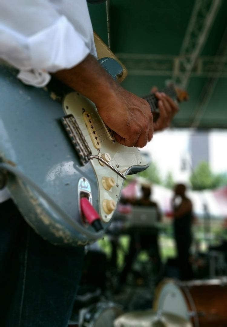 Guitar Bokeh
