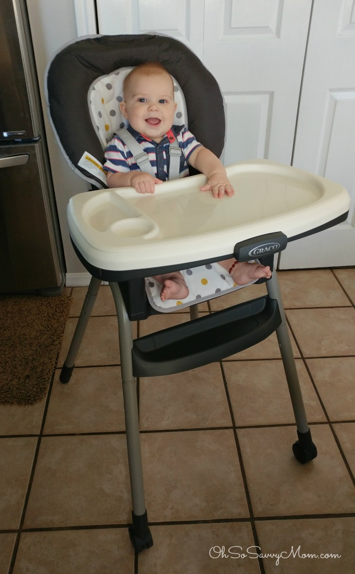 Better breakfast for baby with the graco table2table for Table 09 reviews
