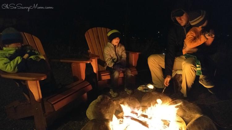 Campfire at Conestoga Ranch