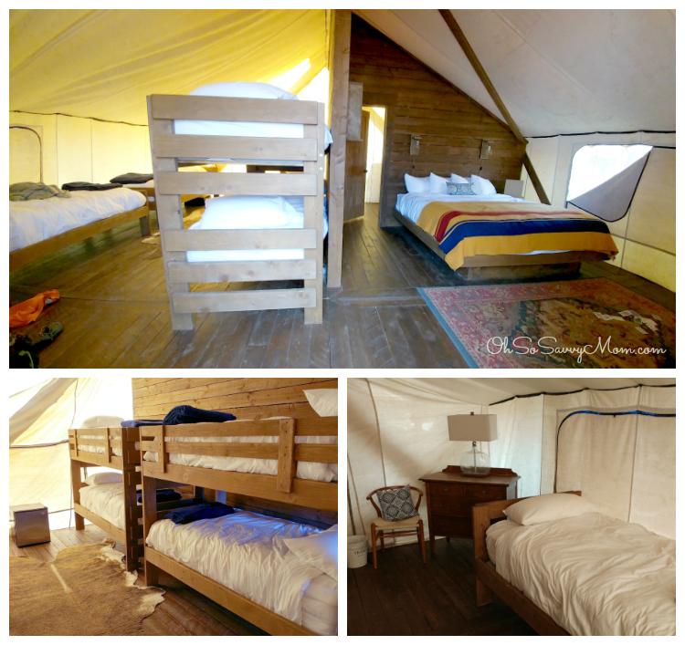 Conestoga Ranch Grand Tent Inside