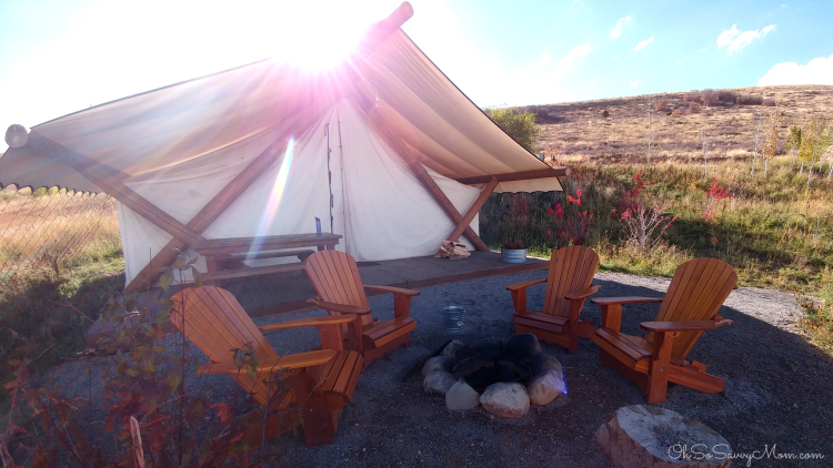 Conestoga Ranch, Glamping at Bear Lake, Grand Tent