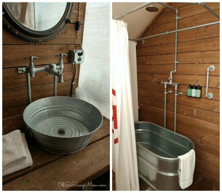 Conestoga Ranch Bathroom in the Grand Tent