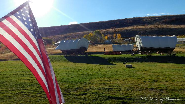 Conestoga Wagons at Conestoga Resort, Bear Lake, Utah