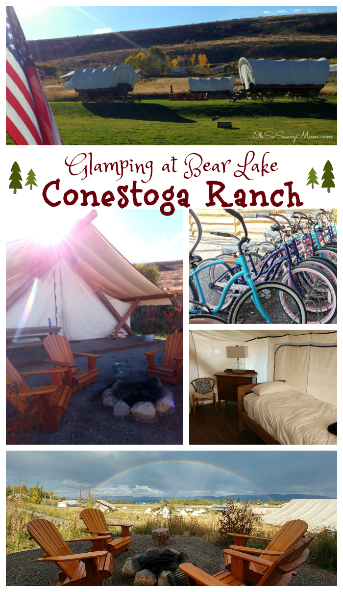 Family-Friendly Glamping at Conestoga Ranch at Bear Lake, Utah