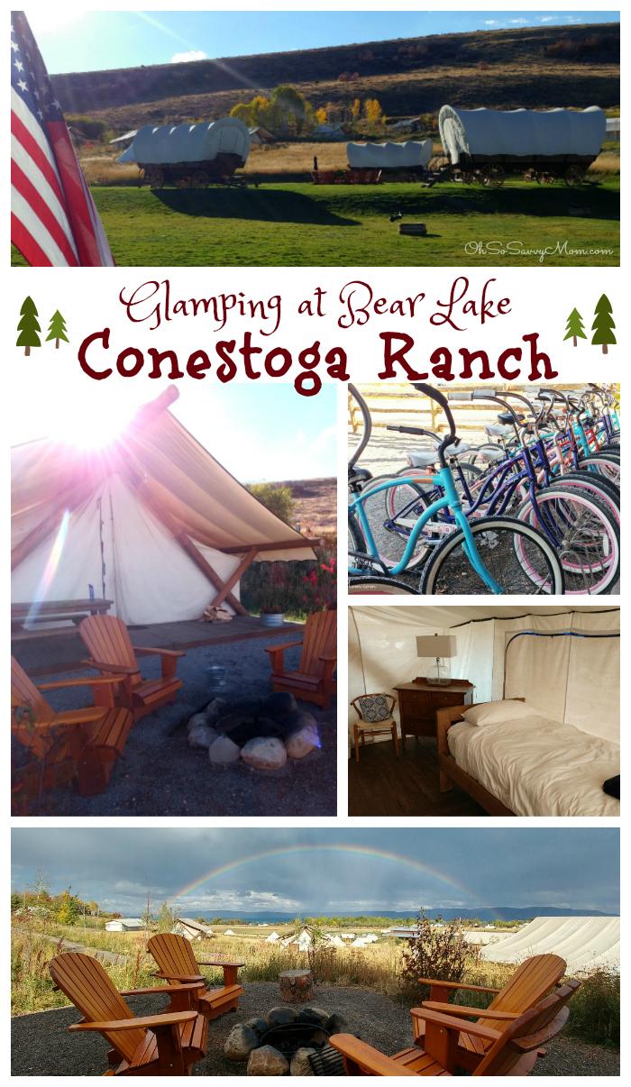Family-Friendly Glamping at Conestoga Ranch at Bear Lake, Utah