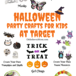 Halloween Party Crafts at Target + $200 Target Gift Card Giveaway!