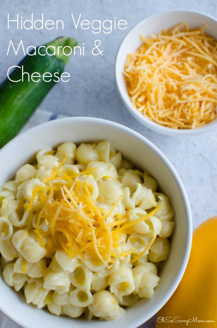 Hidden Veggie Macaroni and Cheese