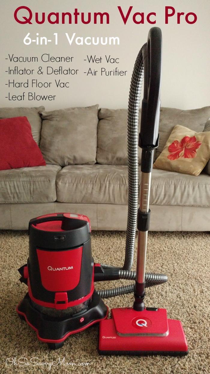 6-in-1 Quantum Vacuum Cleaner Pro