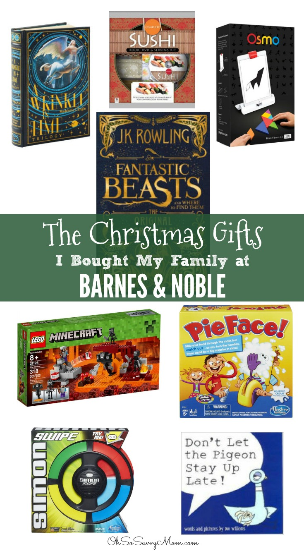 Christmas Gifts at Barnes & Noble