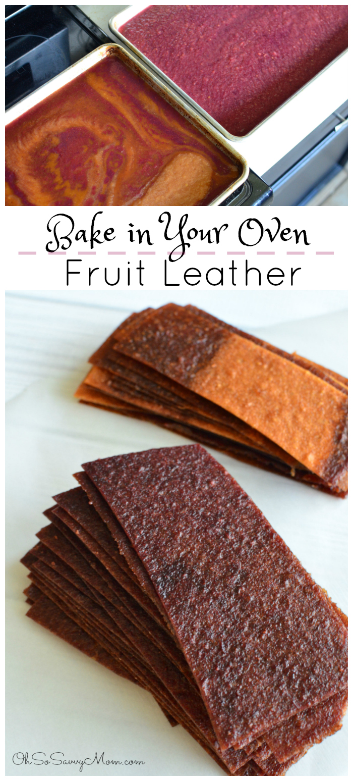 How to Make Fruit Leather in Your Oven