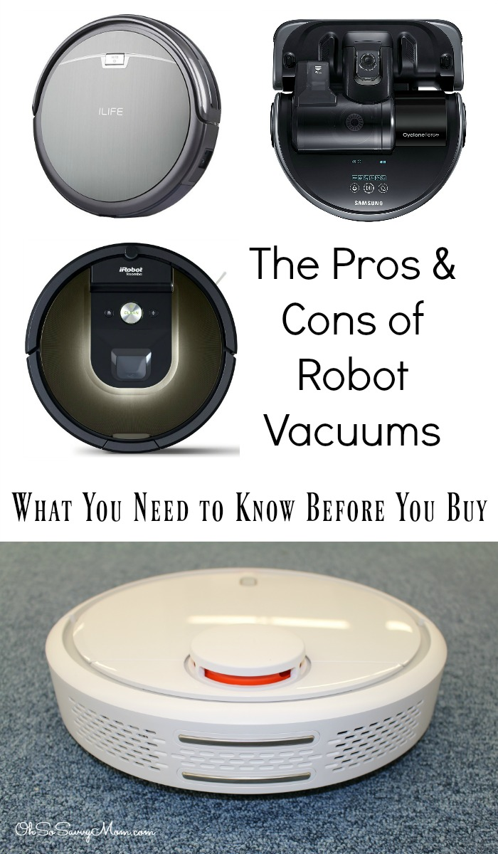 The Pros and Cons of Robot Vacuums. What You Need to Know Before You Buy a Robot Vacuum