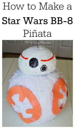 How to Make a BB-8 Pinata