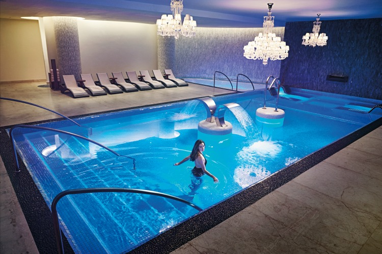 Hydrotherapy Pool at the Moon Palace Jamaica Awe SPA
