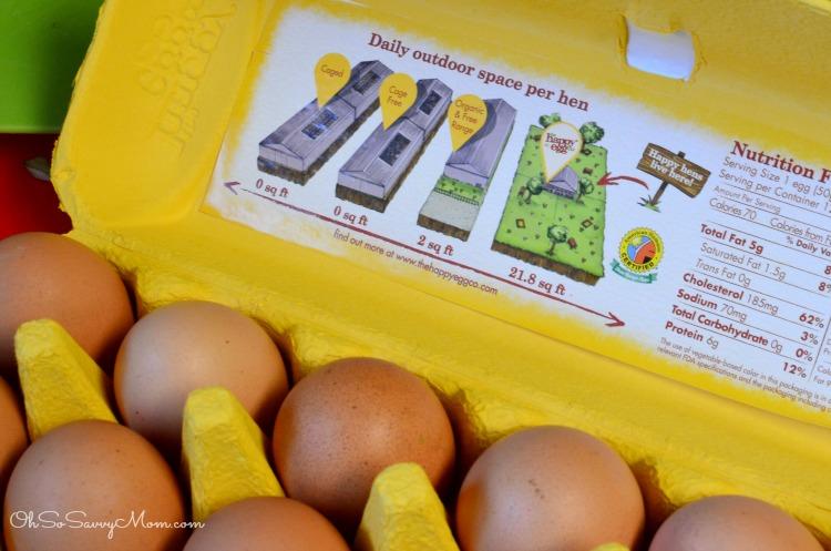 Happy Eggs Pasture Raised