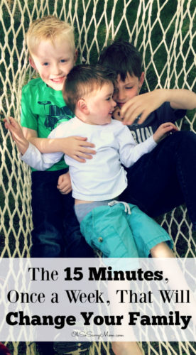 Learn how a 15 minute, once a week, family meeting will help eliminate nagging from parents, help your kids learn personal responsibility, and strengthen family bonds!
