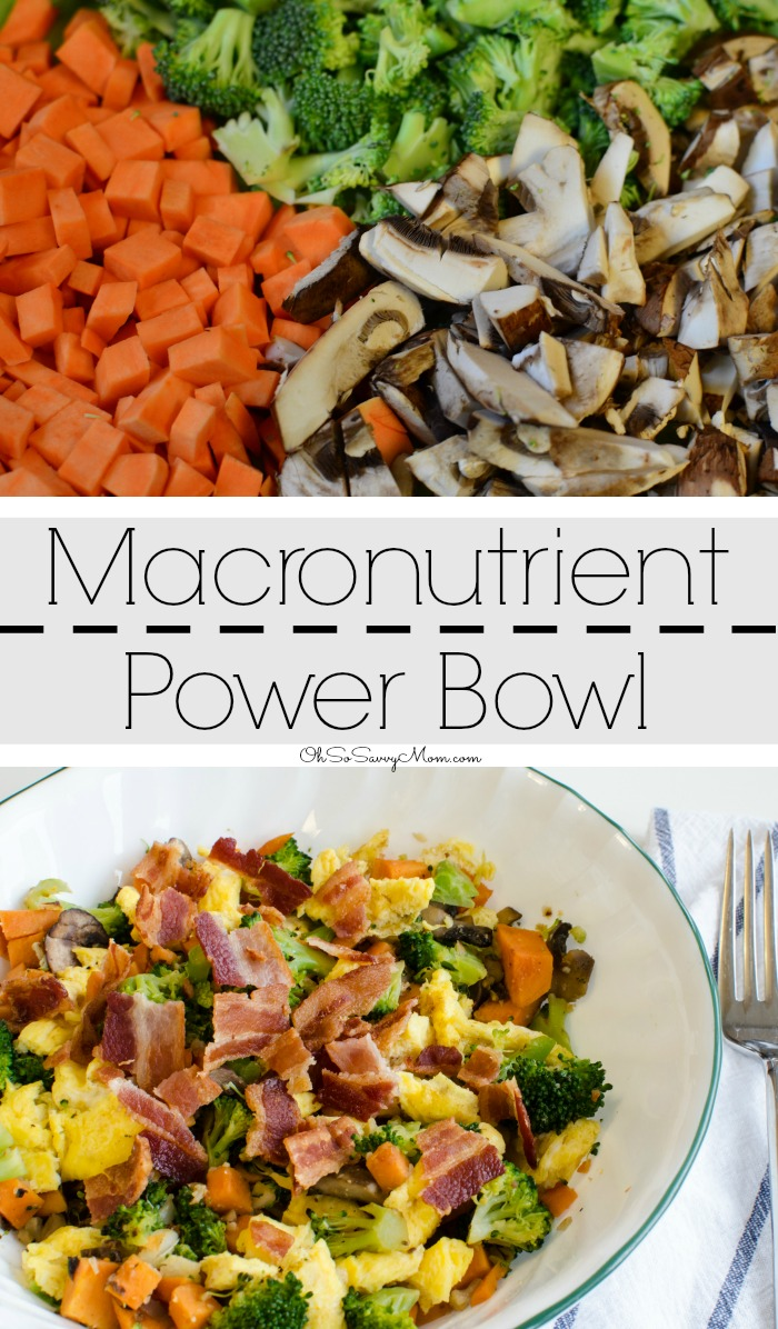 Macronutrient Power Bowl, the perfect recipe for breakfast, lunch, or dinner