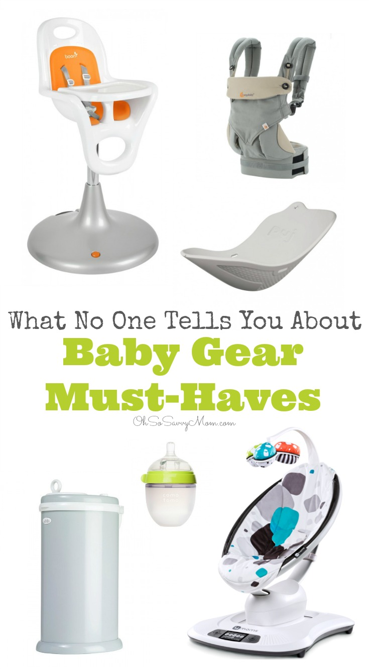 Purchasing baby gear or creating your first baby registry can be a daunting task. Before you buy ANYTHING make sure you read What No One Tells You About Baby Gear Must-Haves!